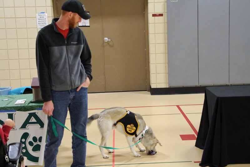Student Veterans Association hosts third annual Pets for Vets event on campus by Macala Leigey