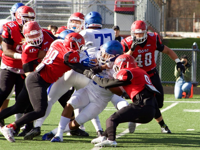 Edinboro football thrives on senior day, finishes 9-2 by George Schmidt