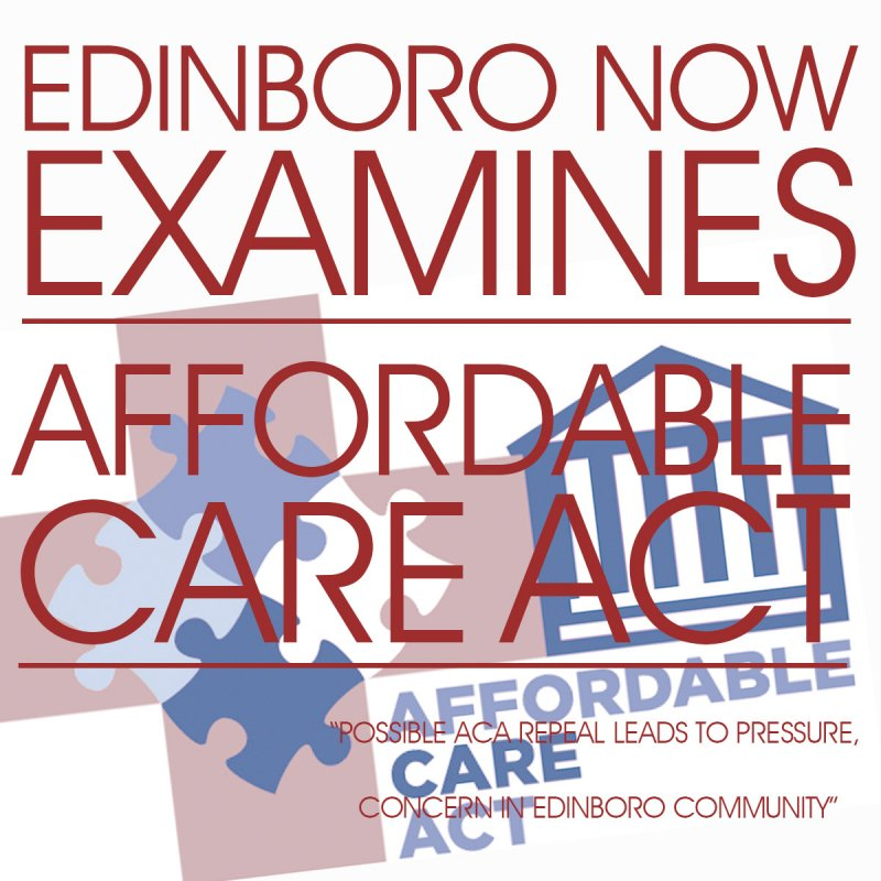 EdinboroNow Examines: ACA by Dakota Palmer, Kimberly Firestine & Natalie Wiepert