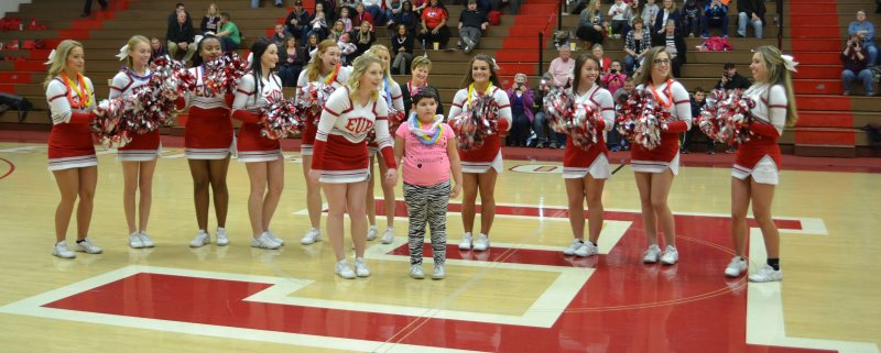Edinboro University athletes host annual Make-a-Wish game and grant dream Hawaiian vacation to young girl by Dakota Palmer