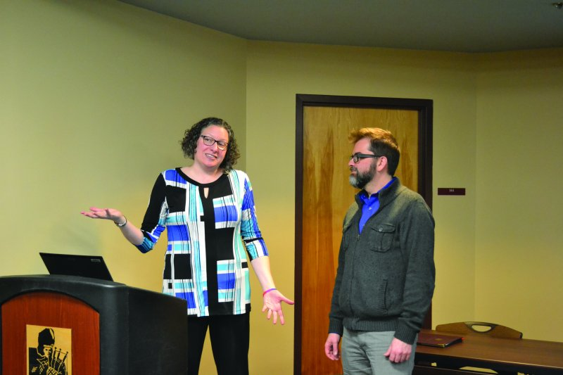 Edinboro University professors present findings of LGBTQ survey by Dakota Palmer