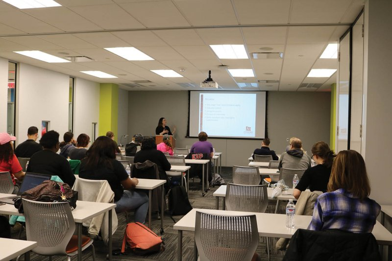 Learning center holds first of 'Lunch and Learn' series events by Macala Leigey