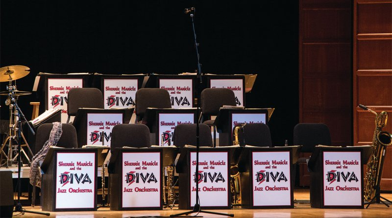 Jazz orchestra visits Louis C. Cole Auditorium by Madi Gross