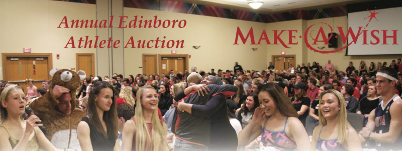 Edinboro University holds annual athlete auction by Mike Lantinen