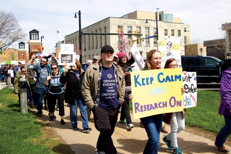 March for Science takes place in Perry Square by Anna Ashcraft