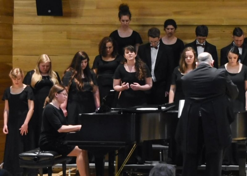 University Singers and Chorale Spring Concert by Sarah Schroeder