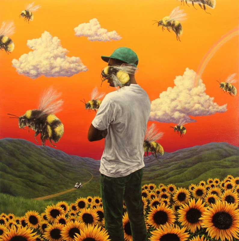 'Find Some Time' for Tyler the Creator's 'Flower Boy' by Britton Rozzelle