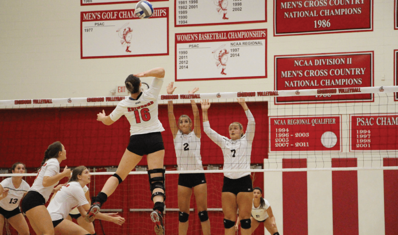 Volleyball earns winning record in Rebich Investments Invite by Madi Gross