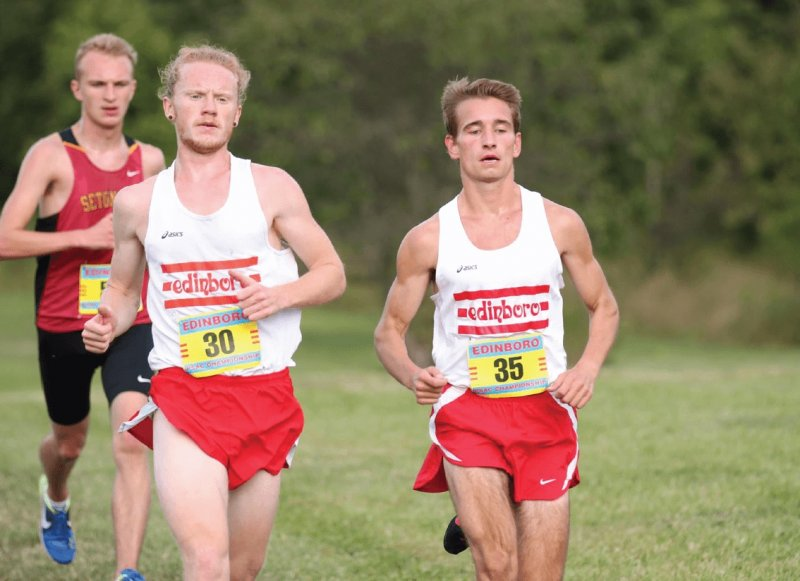Cross country opens with victory over Seton Hill at Doug Watts Dual  by Mike Lantinen