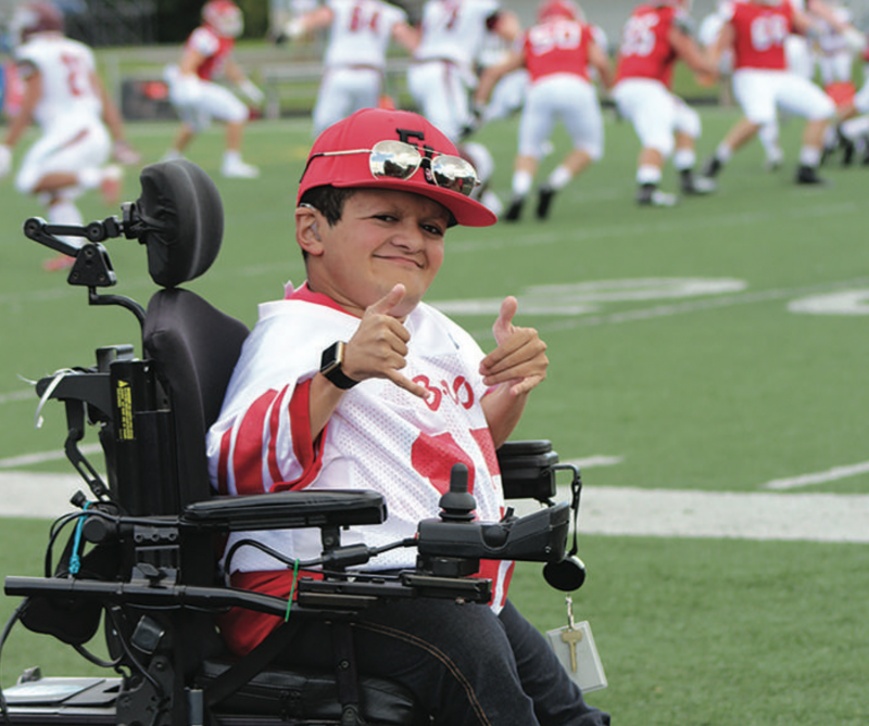 Edinboro football team continues to offer 'hope' through 12th Man program by Emma Stratton