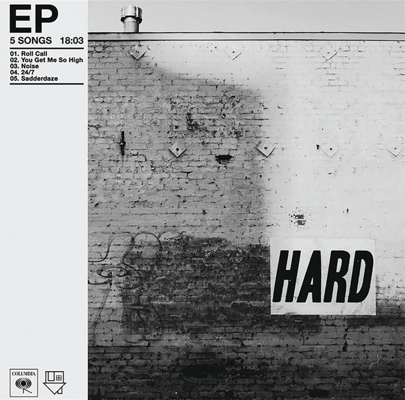 Review: The Neighbourhood – Hard by Livia Homerski