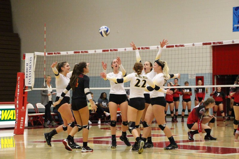 Edinboro loses to Seton Hill in 5-set match by Madi Gross