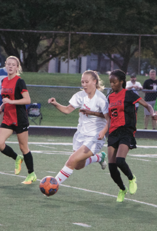 Women's soccer drops 2 at home by Madi Gross