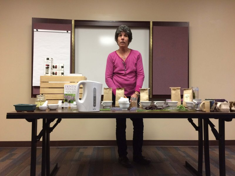 Edinboro environmental club brings herbalist to talk herbs, wellness by Livia Homerski