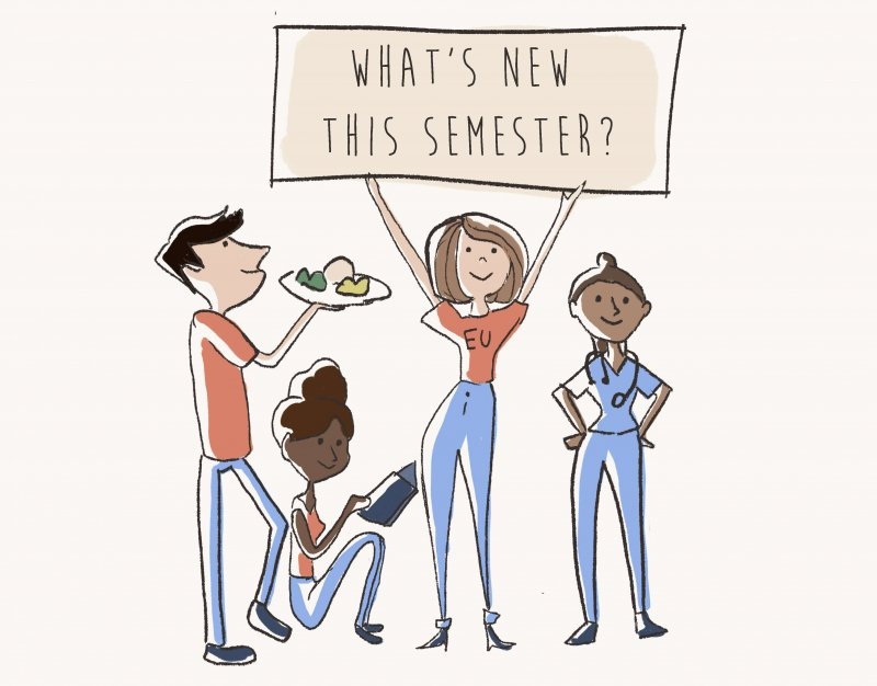 New semester brings changes to campus by Hannah McDonald