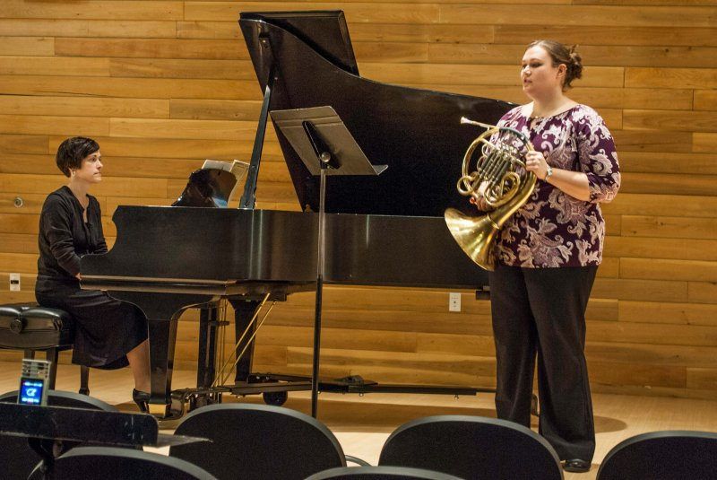 EU music department holds first faculty recital by Nathan Hirth