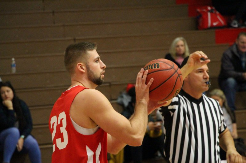 Senior guard scores career high  in victory against Slippery Rock by Hannah McDonald