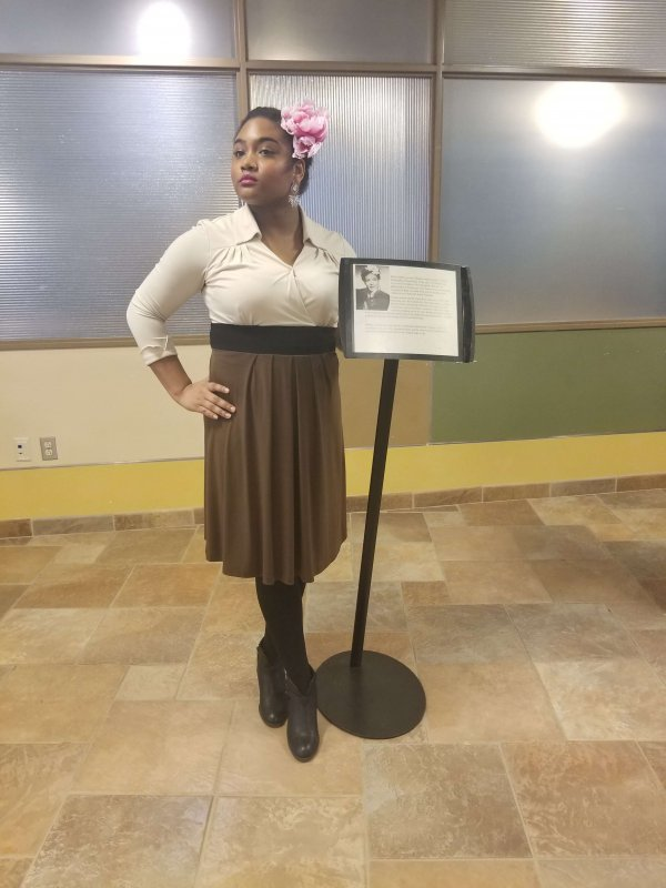 Black history comes alive on the Edinboro campus by Zeila Hobson