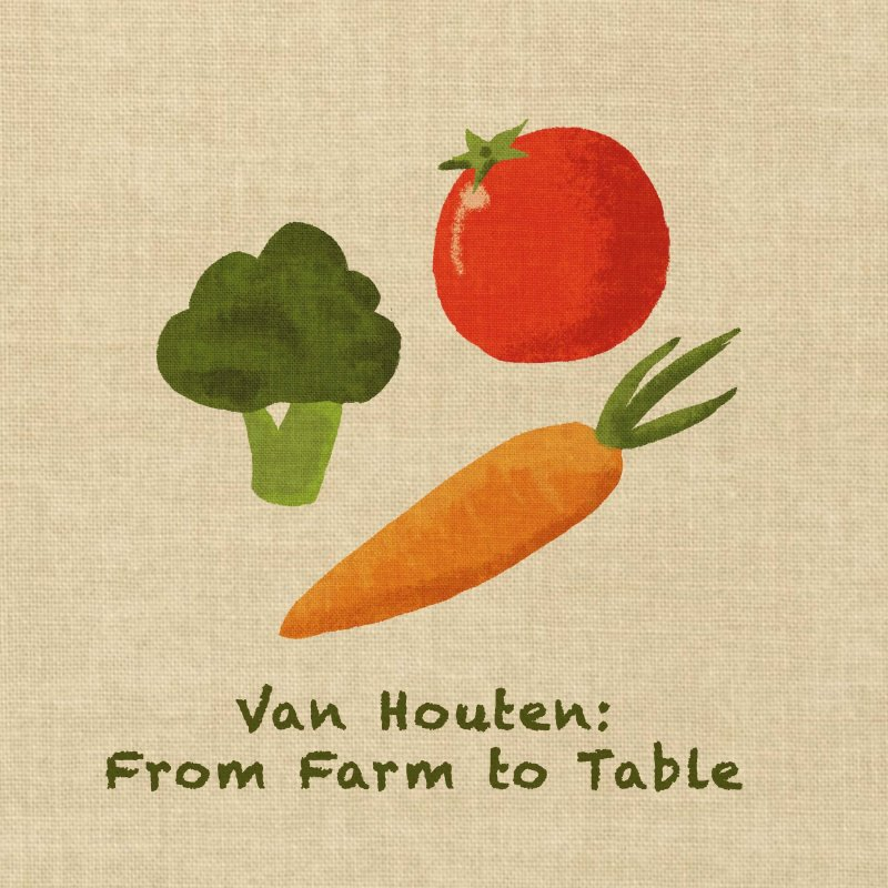Van garden and local farms bring fresh produce to dining by Hannah McDonald