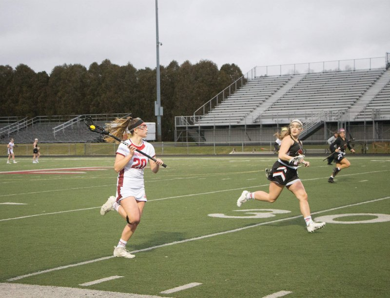 Women's lacrosse opens season with home win over Wheeling Jesuit by Erica Burkholder