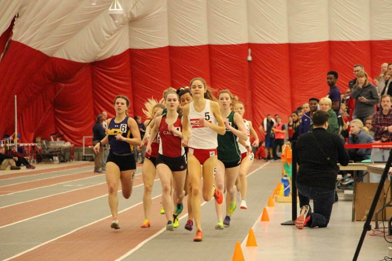 Women's track finishes fourth at PSAC meet by Erica Burkholder
