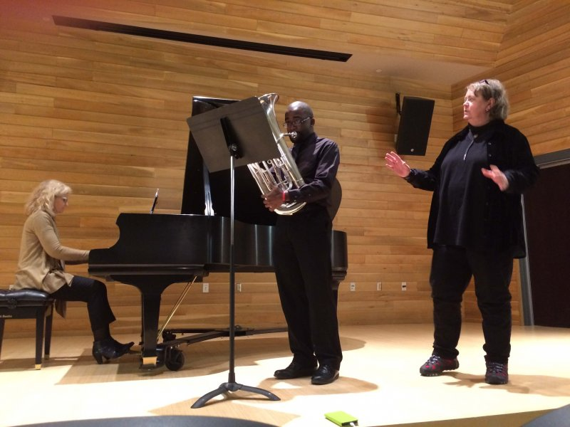 Low Brass Week brings guest professors to EU for master classes by Livia Homerski