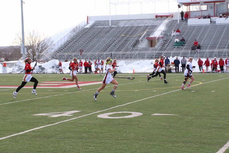 Lacrosse drops third straight PSAC game by Erica Burkholder