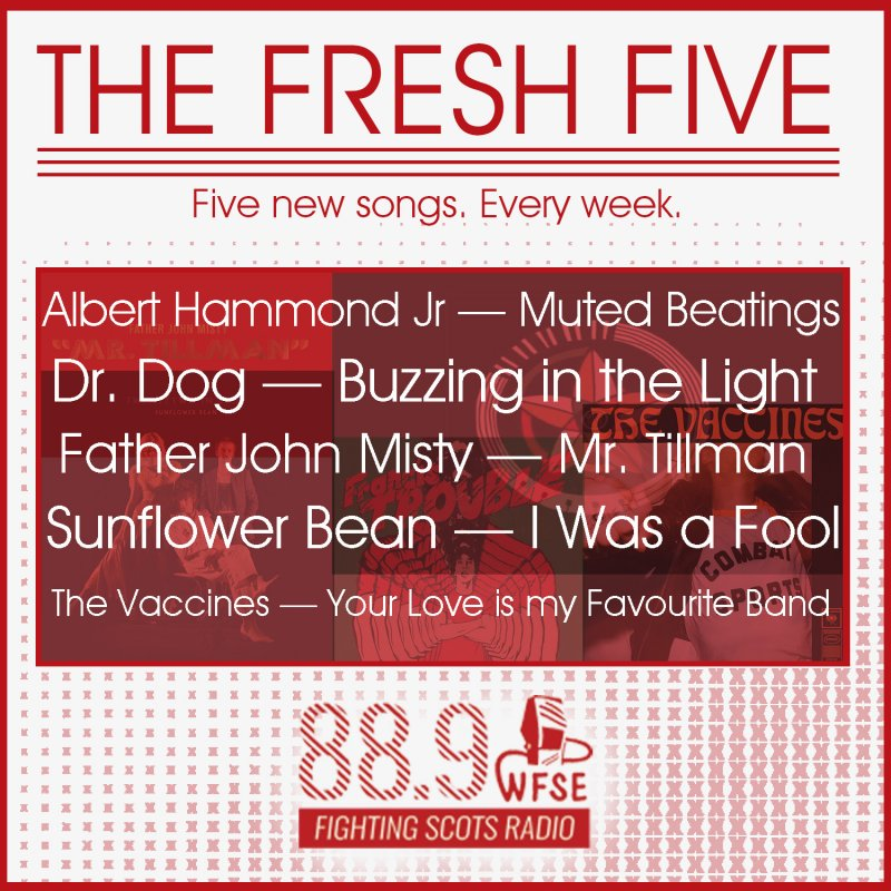 The Fresh Five on WFSE | April 2 by WFSE Radio