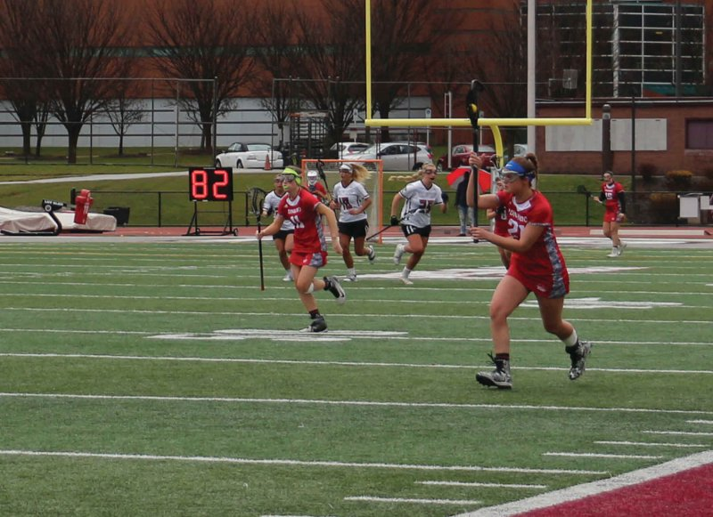 Lacrosse drops mid-week game to Gannon by Erica Burkholder
