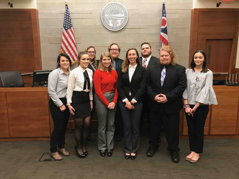 Mock Trial team competes, dept. adds new CRIM course by Hannah McDonald