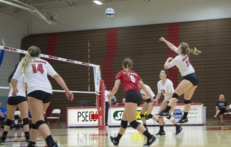 Volleyball goes undefeated in home opening tournament by Madi Gross