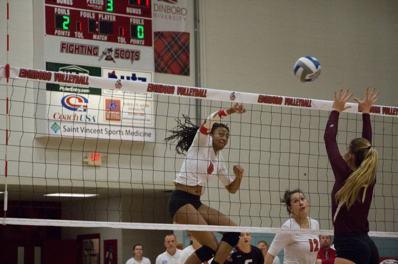 Volleyball earns first PSAC West win by Madi Gross