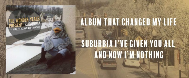 Album that changed my life: Suburbia I've Given You All and Now I'm Nothing by Ben McCullough