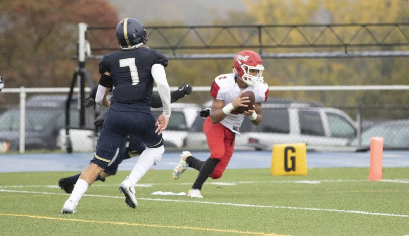 Scots even up PSAC record, only score in even quarters by Chris Rosato Jr.