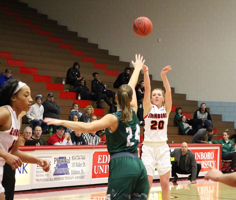 Women's basketball team wins against Slippery Rock by Sydney Dundon
