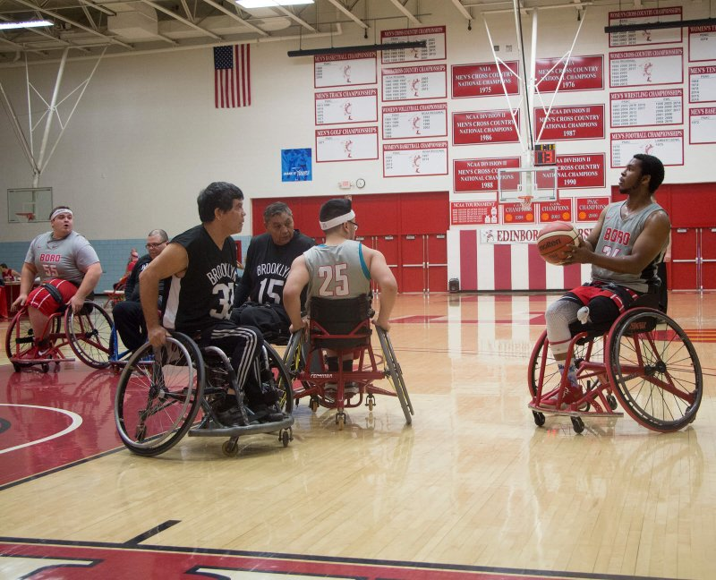 Wheelchair basketball earns more lessons then victories in weekend tournament at Auburn by Erica Burkholder