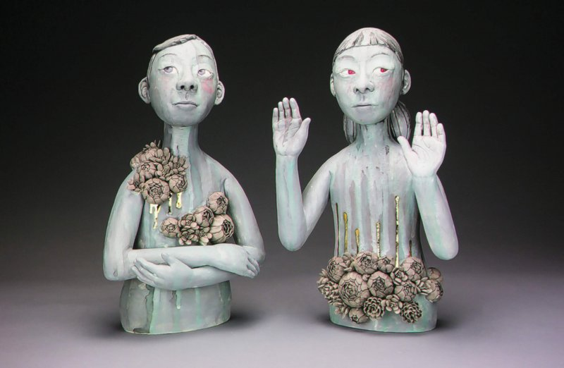Ceramics artist shares insight into her craft  by Nathan Brennan