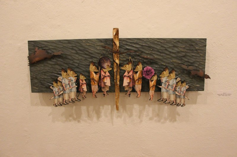 Grad student exhibit explores fantasy and the imagination by Amber Chisholm