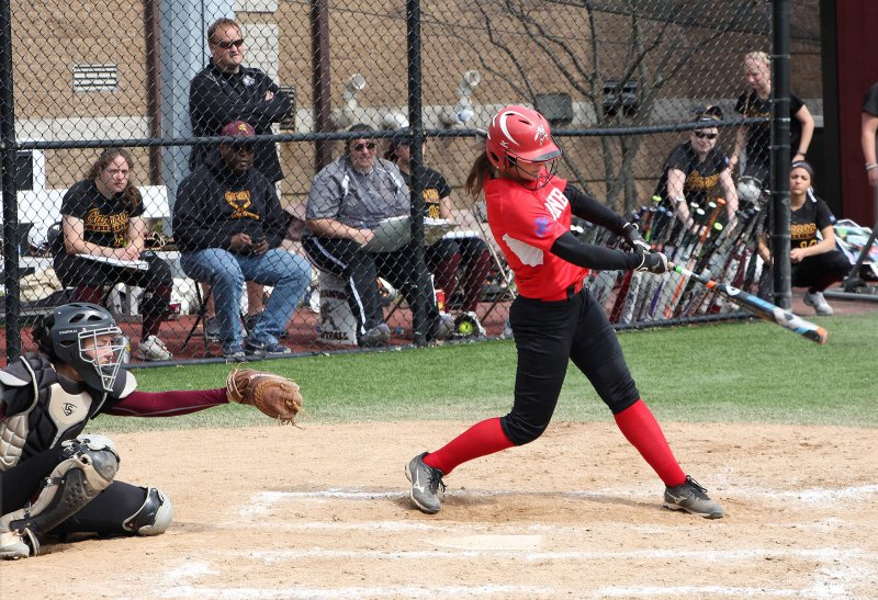 Softball opens PSAC play with a split by Chris Rosato Jr.