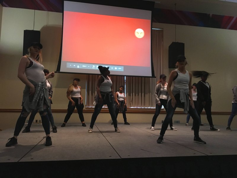 EU step and dance teams bring the moves to Pogue by Livia Homerski