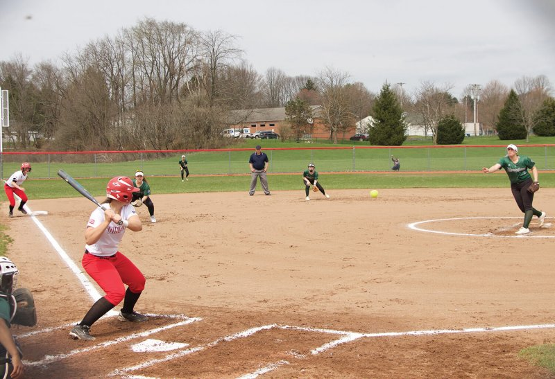 Lipinski's bat keeps softball playoff hopes alive by Chris Rosato Jr.