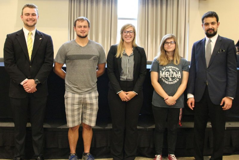 SGA inducts new executive board members, Fighting Scot Appreciation Day discussed by Shayma Musa