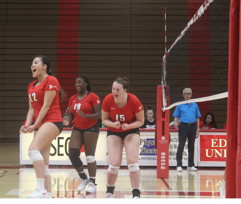 Fighting Scots win 2 of 3 games in Edinboro/Gannon Tournament by Erica Burkholder