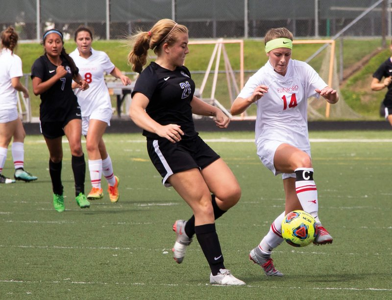 Soccer wins 4th in a row, undefeated in PSAC by Erica Burkholder