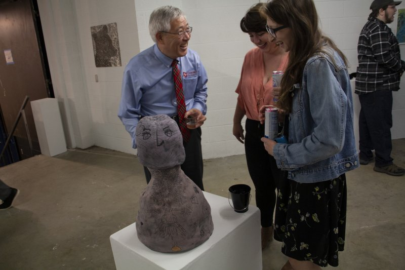 'Making a Mark' documentary, faculty gallery continues Art 100 festivities by Nathan Brennan