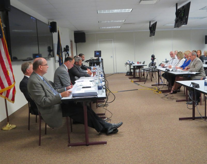 General McLane testifies at Special Education Funding Commission hearing by General McLane School District