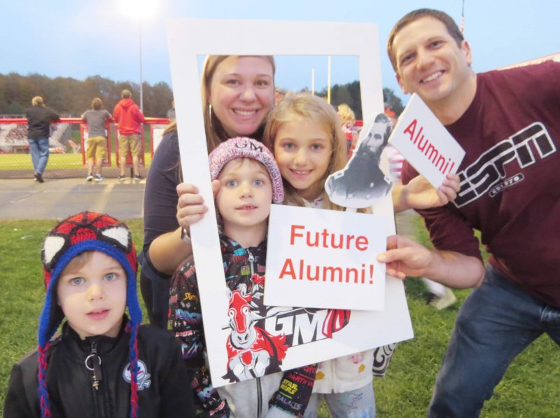 General McLane hosts tailgate for alumni by General Mclane School District