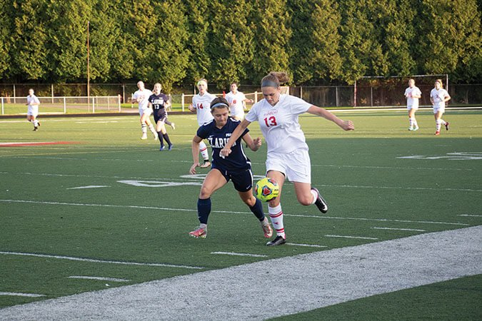 Soccer falls for first time in PSAC play by Erica Burkholder