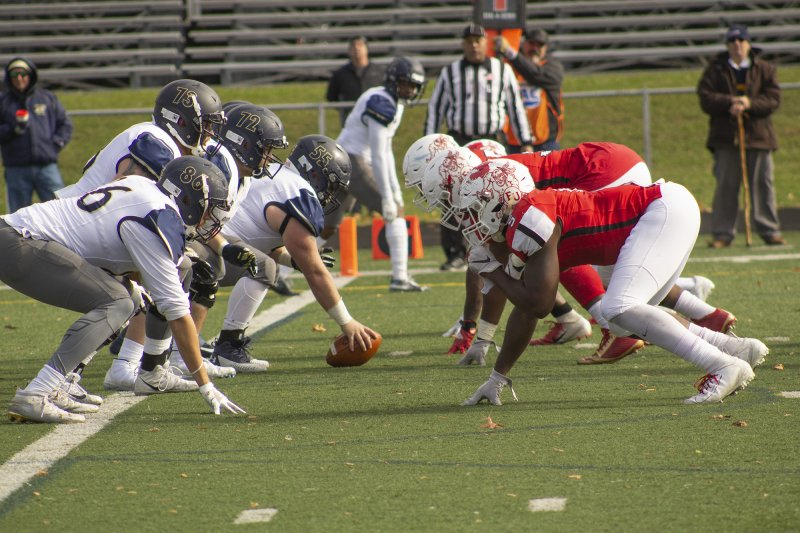 Football wins final home game against Clarion by Paul Petrianni