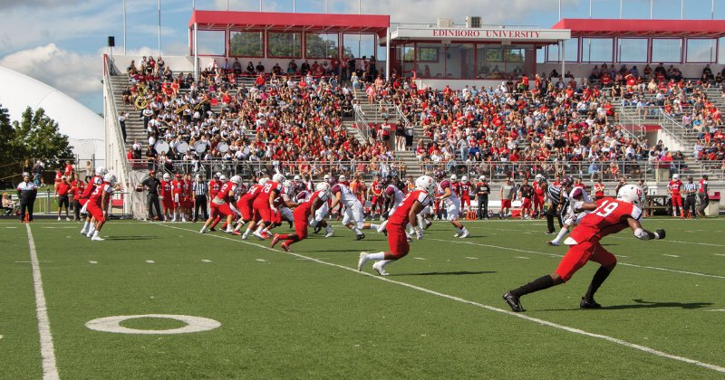 Edinboro Football: Scots break school record for penalties with 19, lose to Bloomsburg 20-17 in finale by Paul Petrianni
